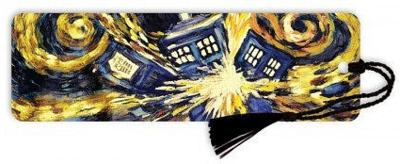 Doctor Who Exploding Tardis Tasseled Bookmark