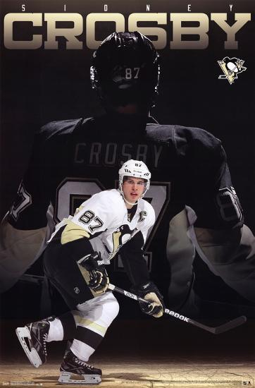 Sidney Crosby Pittsburgh Penguins NHL Sports Poster Prints at AllPosters.com 776016226