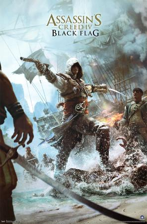 Assassin's Creed IV Black Flag Video Game Poster