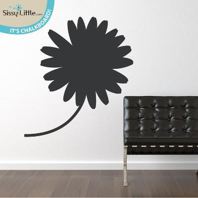 Daisy Doodle Chalkboard Wall Decal
