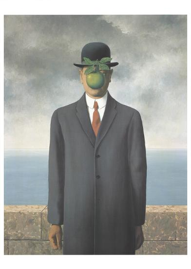 ae94ea3d0b2 Le Fils de L Homme (Son of Man) Posters by Rene Magritte at AllPosters.com