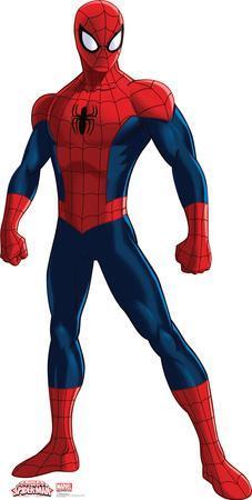 Spiderman - Ultimate Spider-Man TV Lifesize Standup