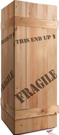 Fragile Leg Lamp Crate - A Christmas Story Lifesize Standup