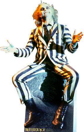 Beetlejuice (Michael Keaton) Lifesize Standup