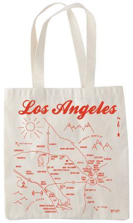 Natural Grocery Tote - Los Angeles