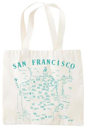 Natural Grocery Tote - San Francisco