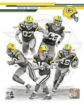 Green Bay Packers 2013 Team Composite