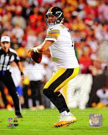 Ben Roethlisberger 2013 Action