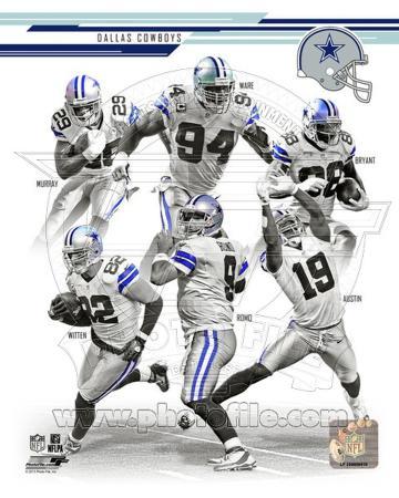 Dallas Cowboys 2013 Team Composite