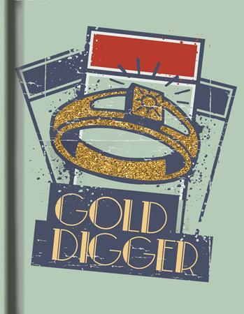 Monopoly Gold Digger Hard Cover Journal