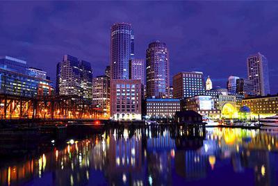 Downtown Boston Photograph