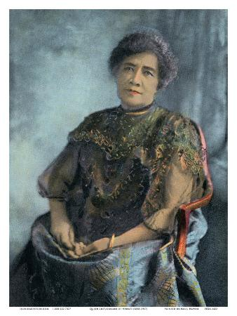 Queen Lili'uokalani (Liliuokalani) of Hawai'i (1838-1917) - Island Curio Co., Honolulu