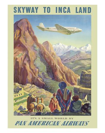 Skyway to Inca Land - Pan American Airways (PAA)
