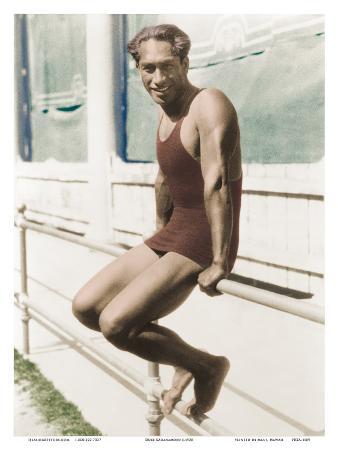 Gold Medalist Swimmer and Amabassador of Aloha - Duke Kahanamoku