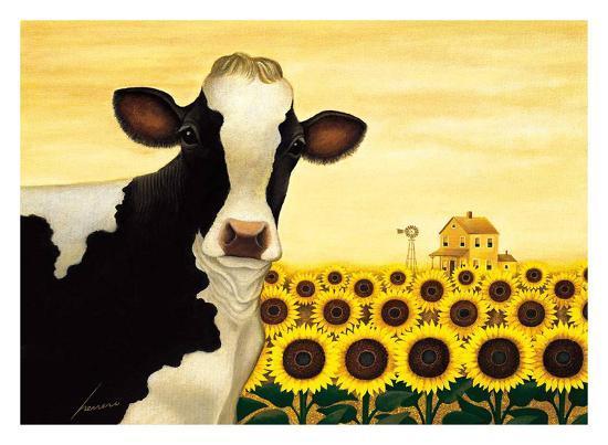 Lowell Herrero - Sunflower Cow |Sunflower Harvest Lowell Herrero