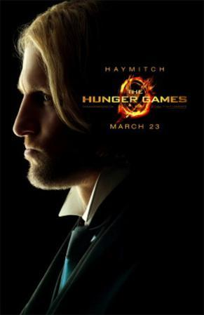 The Hunger Games (Jennifer Lawrence, Josh Hutcherson, Liam Hemsworth) Movie Poster