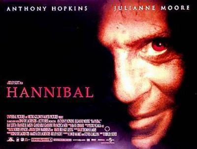 Hannibal (Anthony Hopkins, Julianna Moore) Movie Poster