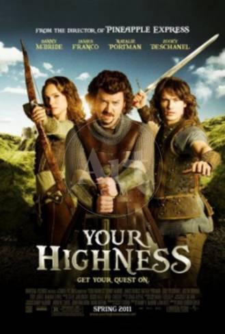 Your Highness Natalie Portman James Franco Movie Poster Posters