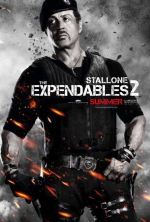 The Expendables 2 (Sylvester Stallone) Movie Poster