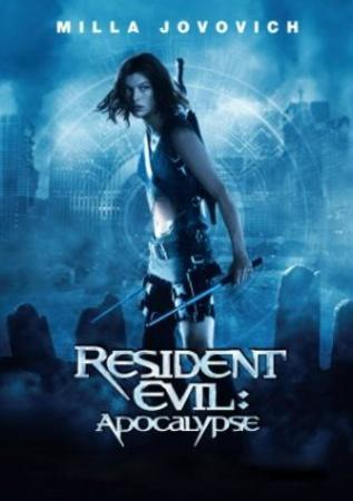 Resident Evil Apocolypse Movie Poster