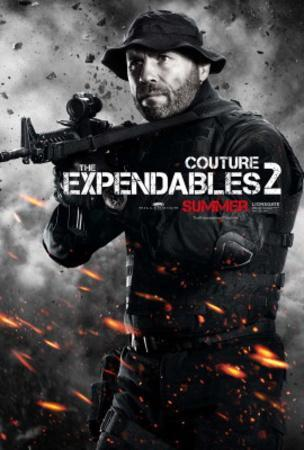 The Expendables 2 (Randy Couture) Movie Poster