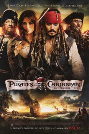 Pirates of the Caribbean: On Stranger Tides (Johnny Depp, Penelope Cruz, Geoffrey Rush) Movie