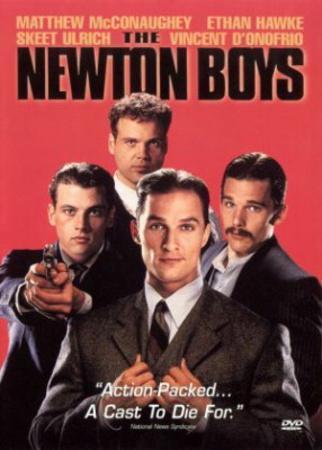 Newton Boys (Matthew McCaughey, Ethan Hawke, Skeet Ulrich) Movie Poster