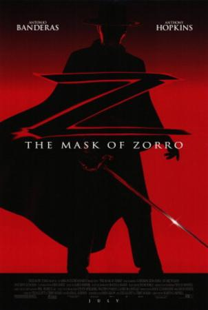 Mask of Zorro Movie Poster