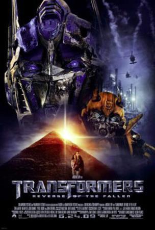 Transformers: Revenge of The Fallen (Megan Fox, Shia Labeouf) Movie Poster