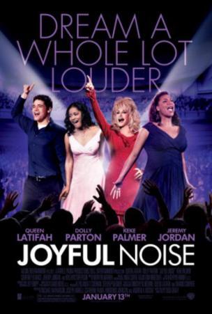 Joyful Noise (Dolly Parton, Queen Latifah, Jeremy Jordan) Movie Poster