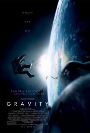 Gravity (Sandra Bullock, George Clooney) Movie Poster