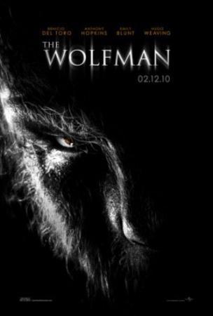 The Wolman (Benecio Del Toro, Anthony Hopkins, Emily Blunt) Movie Poster