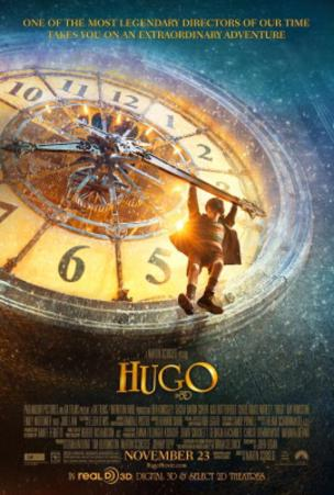 Hugo (Ben Kingsley, Sacha Baron Cohen, Asa Butterfield) Movie Poster