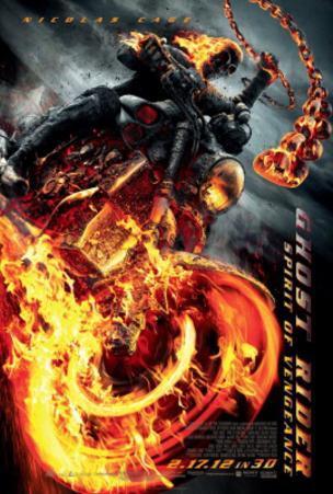 Ghost Rider - Spirit of Vengeance (Nicolas Cage) Movie Poster