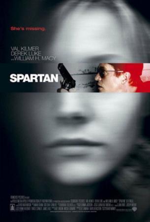 Spartan Movie Poster
