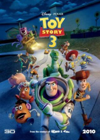 Toy Story 3 (Tim Allen, Tom Hanks) Disney/Pixar Movie Poster