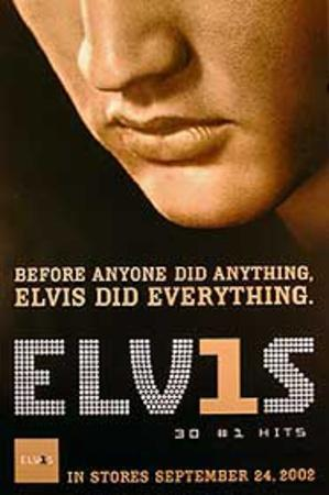 Elvis 30 Number One Hits (Elvis Presley) Music Poster