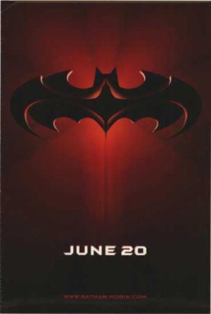 Batman And Robin (George Clooney, Arnold Schwarzenegger, Uma Thurma) Movie Poster