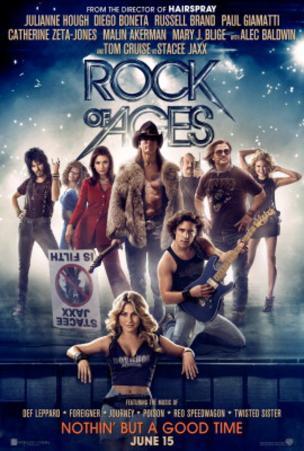 Rock of Ages (Tom Cruise, Catherine Zeta Jones, Alec Baldwin) Movie Poster