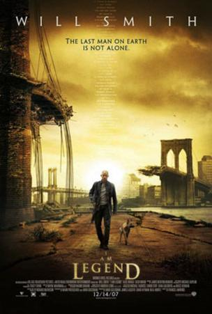 I Am Legend (Will Smith) Movie Poster