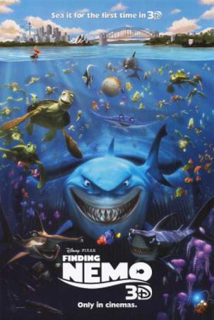 Disney-Pixar's Finding Nemo Movie Poster