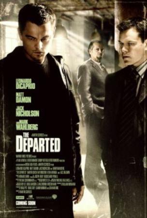 The Departed (Jack Nicholson, Matt Damon, Mark Wahlberg) Movie Poster