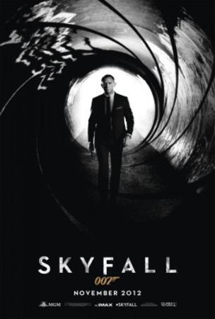 Skyfall (Daniel Craig) Movie Poster