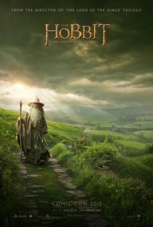 The Hobbit: An Unexpected Journey (Ian Mckellan) Movie Poster