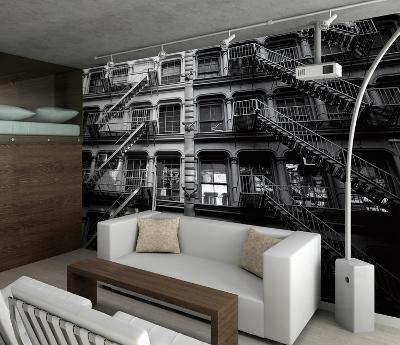 New York Fire Escapes Wallpaper Mural