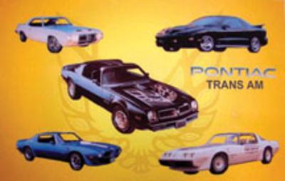 Pontiac Trans Am Tin Sign