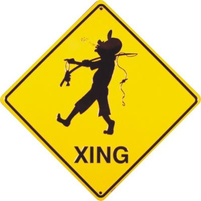 Fishing Xing Tin Sign
