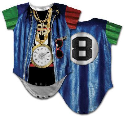 Infant: Old School Rapper Costume Romper