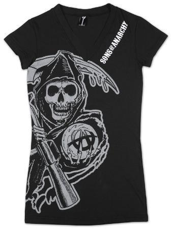 Women's: Sons of Anarchy - V-Neck Cover Up
