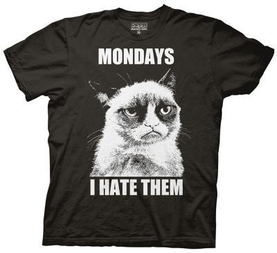 Grumpy Cat - Mondays I Hate Them